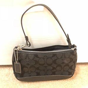 COACH Preloved Vintage Shoulder Bag/Wristlet